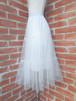 フリルスカート 精霊のミモレ丈チュールスカート
