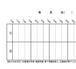 自宅サロンor 2席以下のサロン用 予約表【20分刻み】 雛形 エクセル