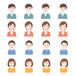 フラット 家族 人々 日本人