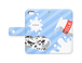【手帳型iPhoneケース】cow retic