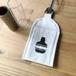スライドバーホルダー(一本用モデル:ブランデーボトル/ブラウン):Handmade  slide bar holder