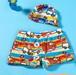 9414男の子 ショートパンツ  スイムキャップ 水泳帽子 サーフパンツ 海パン 子供用 こども ベビー水着キッズみずぎ スイミング ウェア 男児 男子ジュニア 小学生