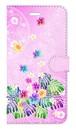 【iPhone6Plus/6sPlus】 Sweet Pink Paradise スィート・ピンク・パラダイス 手帳型スマホケース