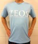 第1弾  ZEOS卓球スタジオ限定Tシャツ  ライトブルー