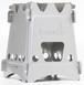 New Emberlit stove stainless steel(エンバーリット ストーブ ステンレス製)  クロスバー及びストーブ収納袋付属