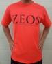 第1弾  ZEOS卓球スタジオ限定Tシャツ  オレンジ