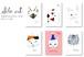ポストカードセット 「キャット2」全6枚 / Sho.art Postcard Set [Cat 2]