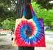 タイダイ Fillmore Trip Cafe Tie Dye Tote Bag  L-size