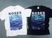 Aofuji Sui×THE NOVEMBERS ROSES T-Shirts (MERZ-0125)