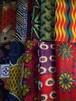 アフリカプリント布【おまかせシンプル5種類】