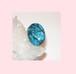 トルコ石(ターコイス)のタイピン(20ミリ) 旅の安全を守るパワーストーン