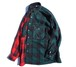 [UNION FLANNEL SHIRT] GREEN×RED size:M