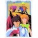 Gundam ZZ & Three Kingdoms II - B3 size Double Sided Poster Animedia 1986 Sep.