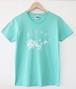 オオシマアロハTシャツ/ターコイズブルー