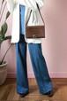 old GUCCI brown shoulder bag