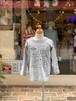 KIDS:NEEDLE WORKS【ニードルワークス】エイリアンTシャツ(トップグレー/90〜150cm)
