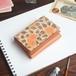 三つ折り ミニ財布(ヴィンテージ マリーゴールド)牛革 オールレザー レディース コンパクト ILL-1129
