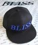 当店限定 BLISS フラットビルキャップ ブラック・ブルー
