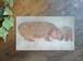 ONO*Hippo Card - カバの親子 - ポストカード