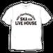 SKA FOR LIVEHOUSE  S/S Tシャツ【ホワイト】