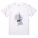 Mandala powder Tee T-shirt 曼荼羅の模様と角のTシャツ