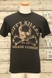 HIPPY KILLER(ヒッピーキラー)Tシャツ Sサイズ スカル 黒 【BIK-t-23】