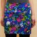 OUTLET★S~Lサイズ【オリジナルセレクト商品】鮮やかなバラの花◆タイトフィット◆ミニ丈スカート