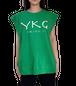 【YKG】CANOTTA タンクトップ【グリーン】【新作】イタリアンウェア《M&W》