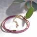 bracelet ◍tenowa(plum)