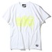 "RUDIE'S / ルーディーズ | "" MELT SPARK-TEE "" 84170 : White/Yellow"