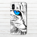 #000-006 iPhoneケース スマホケース iPhoneX ねこ 猫 おしゃれ Xperia iPhone5/6/6s/7/8 動物 ネコ Galaxy ARROWS AQUOS タイトル:See what the pupi