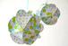 幾何学模様の吊るし玉(グリーン)
