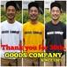GOODS COMPANY オリジナル ロゴ Tシャツ