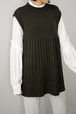 ROOM211 / Pleated vest (3color)