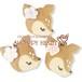 【期間限定セール360円】バンビのアイシングクッキー SHON-PY HEART 結婚式プチギフト