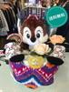 おむつケーキ/オムツケーキ/ANAP/アナップ/出産祝い/誕生祝い/お祝い/ディズニー/チップ/おむつベビーカー/おむつバイク