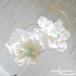 Girly Flowers  Pierce -White-