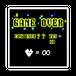 ステッカー【game】ロゴ ライムグリーン