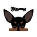 見てまステッカー【ミニチュアピンシャー】 犬 ステッカー シール