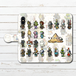 #064-003 iPhoneケース スマホケース 手帳型 全機種対応 おしゃれ 動物柄 エクスペリア iPhoneXS/X Xperia iPhone5/6/6s/7/8 ケース メジェド かわいい Galaxy ARROWS AQUOS HUAWEI Zenfone タイトル:ケモエジプト パターン2 作:Rii2