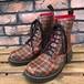 Dr.Martens 8 Eyelet Rubber Rain Boots Tartan UK6