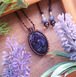 *Milkyway* Iolite Sunstone Necklace