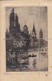 古絵葉書エンタイア「幻想的な風景」(1924年)