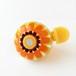 かわいい☆おしゃれな自転車ベル FBS01 フラワー(オレンジ)