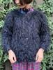 (TOYO) shaggy knit cardigan