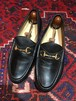 .GUCCI LEATHER HORSE BIT LOAFER MADE IN ITALY/グッチレザーホースビットローファー 2000000031453