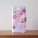 桜と雪輪の手帳型スマホケース #iPhoneXs/XR対応