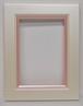 ハガキ額1051ピンク 額縁寸法152㍉×107㍉ 壁掛け用