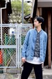 【ORDINARY FITS】DENIM COVERALL 2ND USED/OF-J018