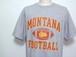 1990's The Cotton Exchange モンタナ大学グリズリーズ カレッジプリントTシャツ 霜降りグレー 表記(L)